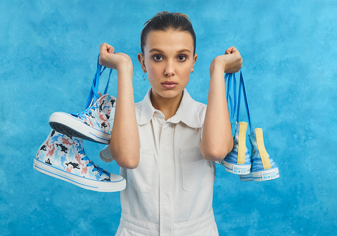 "Stranger Things Star Millie Bobby Brown Links with Converse to Launch ""Millie By You"" Collection"