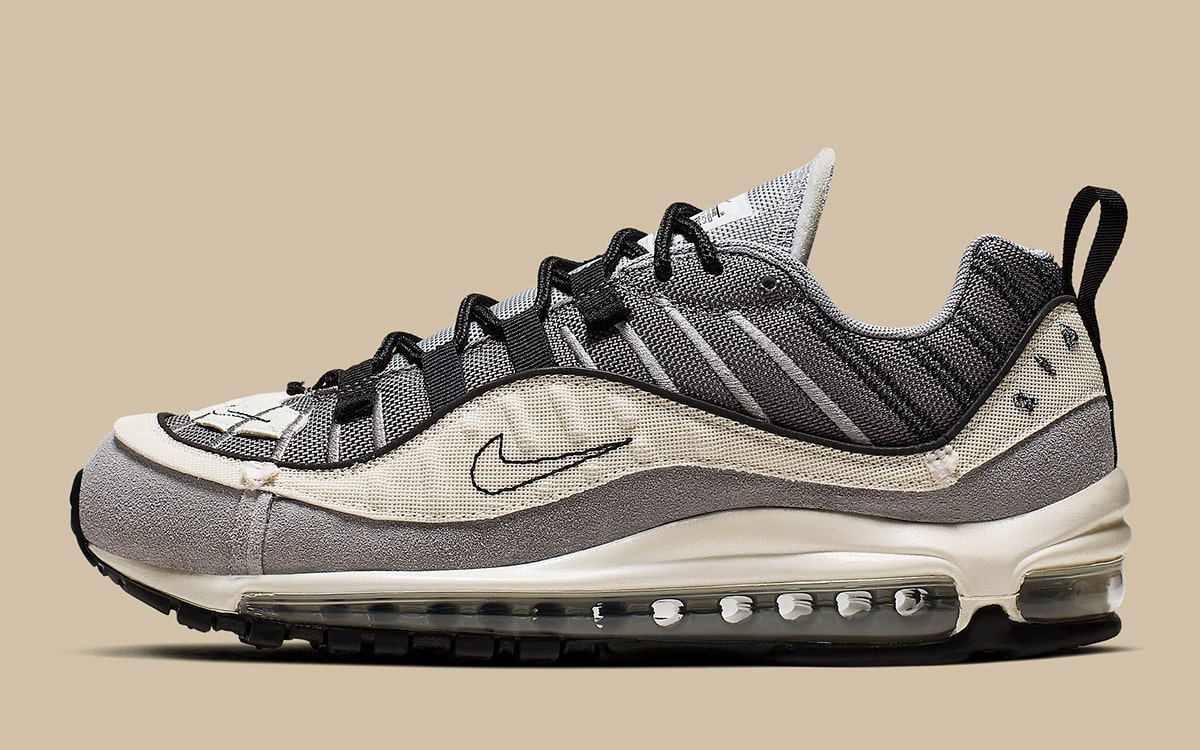 Available Now The Air Max 98 Inverts And Goes Inside Out