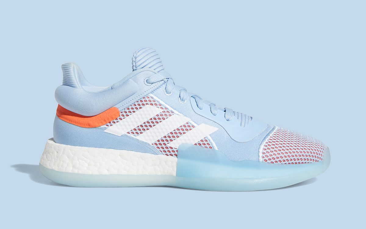 """Available Now // adidas Marquee BOOST Low """"Glow Blue"""""""