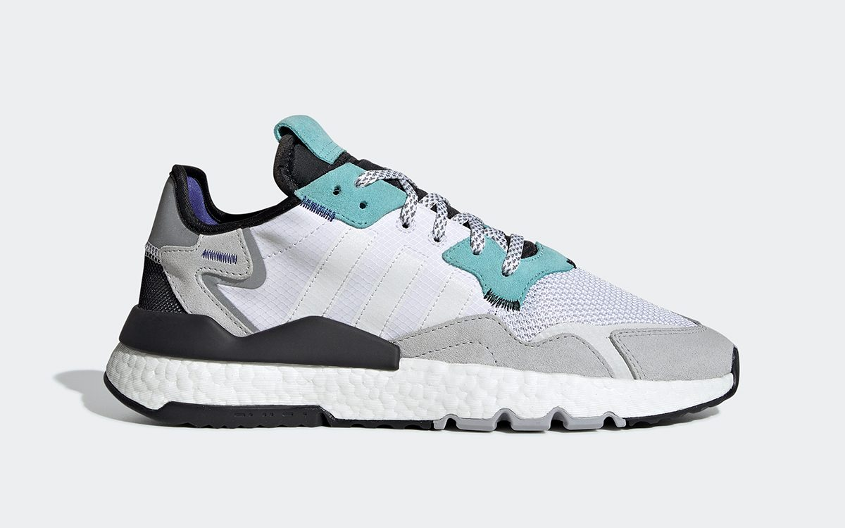 """Available Now // The adidas Nite Jogger Claims the Classic """"Grape"""" Colorway"""