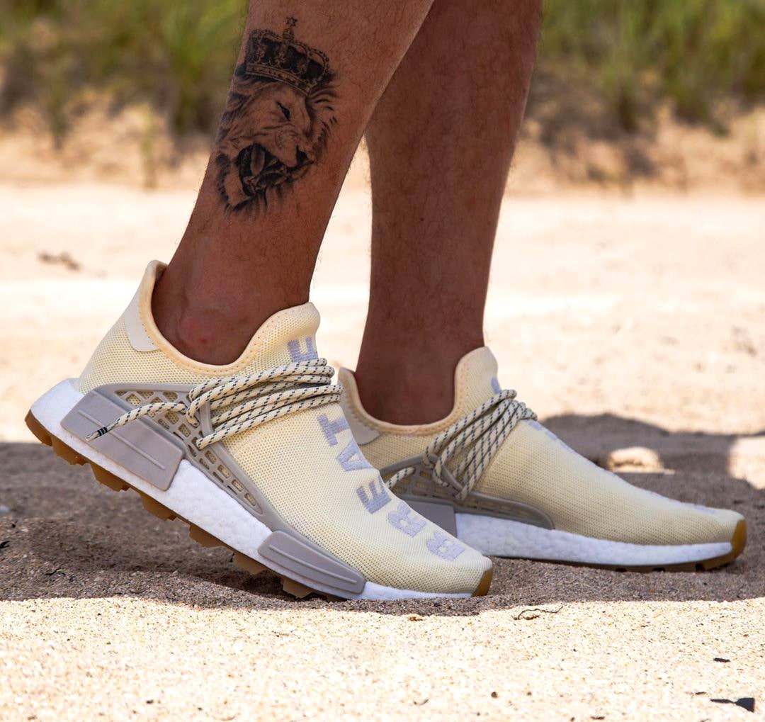 On-Foot Looks at the adidas NMD Hu Cream/Gum