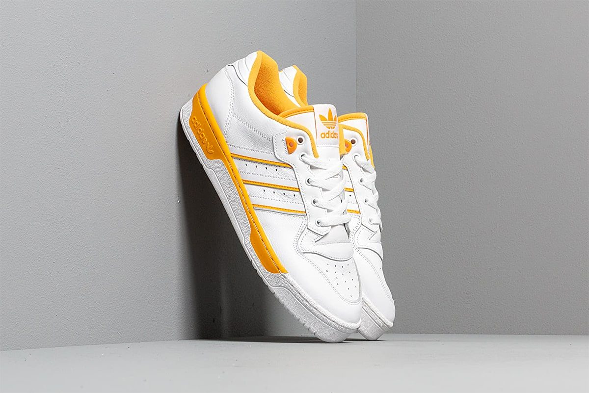 "Available Now // ""Active Gold"" adidas Rivalry Low"