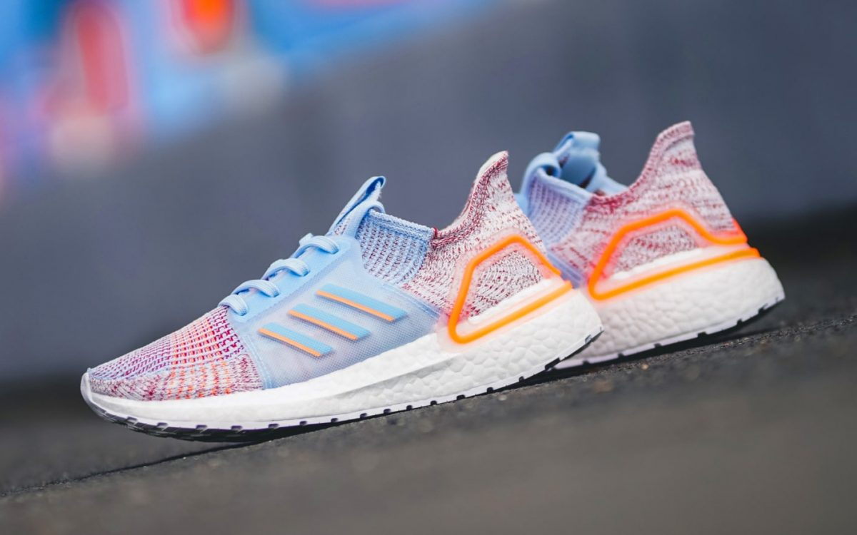 "Available Now // adidas Ultra BOOST 19 ""Glow Blue"""