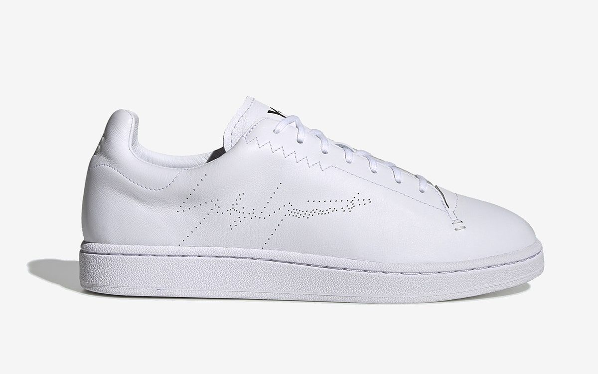 The adidas Y-3 Yohji Court Rocks Triple White this Summer