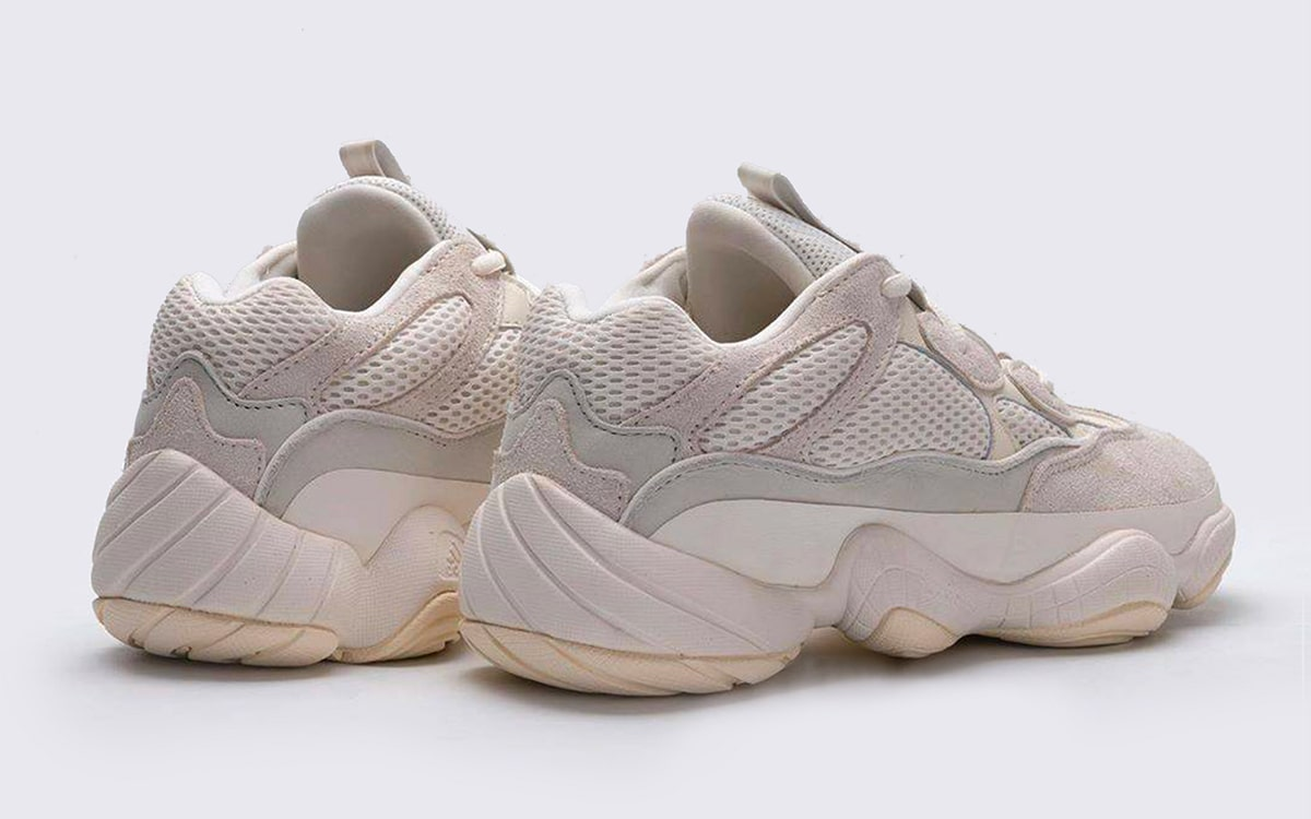 """low priced 70c36 c427f Where to Buy the adidas YEEZY 500 """"Bone White"""" - HOUSE OF ..."""