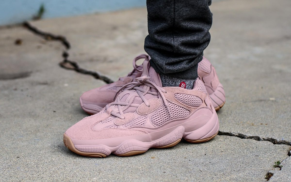 online store 04607 43ee8 Pink YEEZY 500 to Arrive for Breast Cancer Awareness Month ...