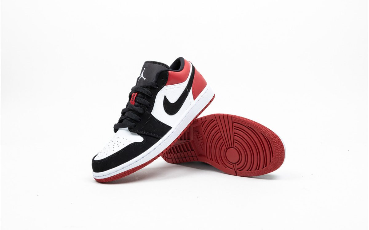 "More Pairs of the ""Black Toe"" Air Jordan 1 Lows are Available Now!"