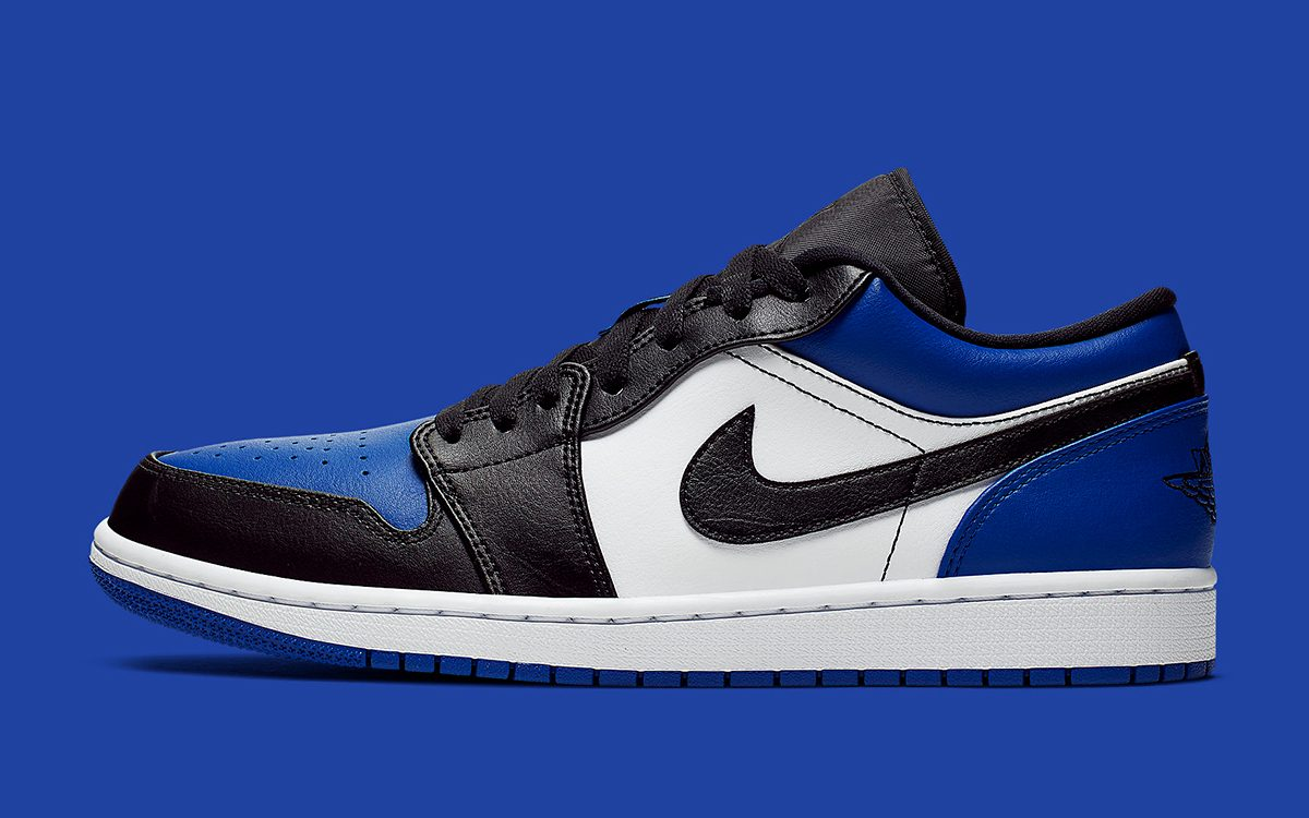 "Available Now // Air Jordan 1 Low ""Royal Toe"""