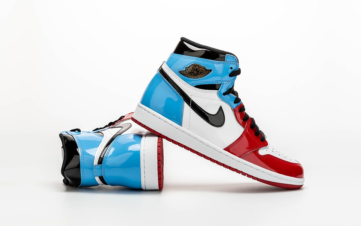 """Detailed Looks at the Patent Leather """"UNC to Chicago"""" Air Jordan 1"""