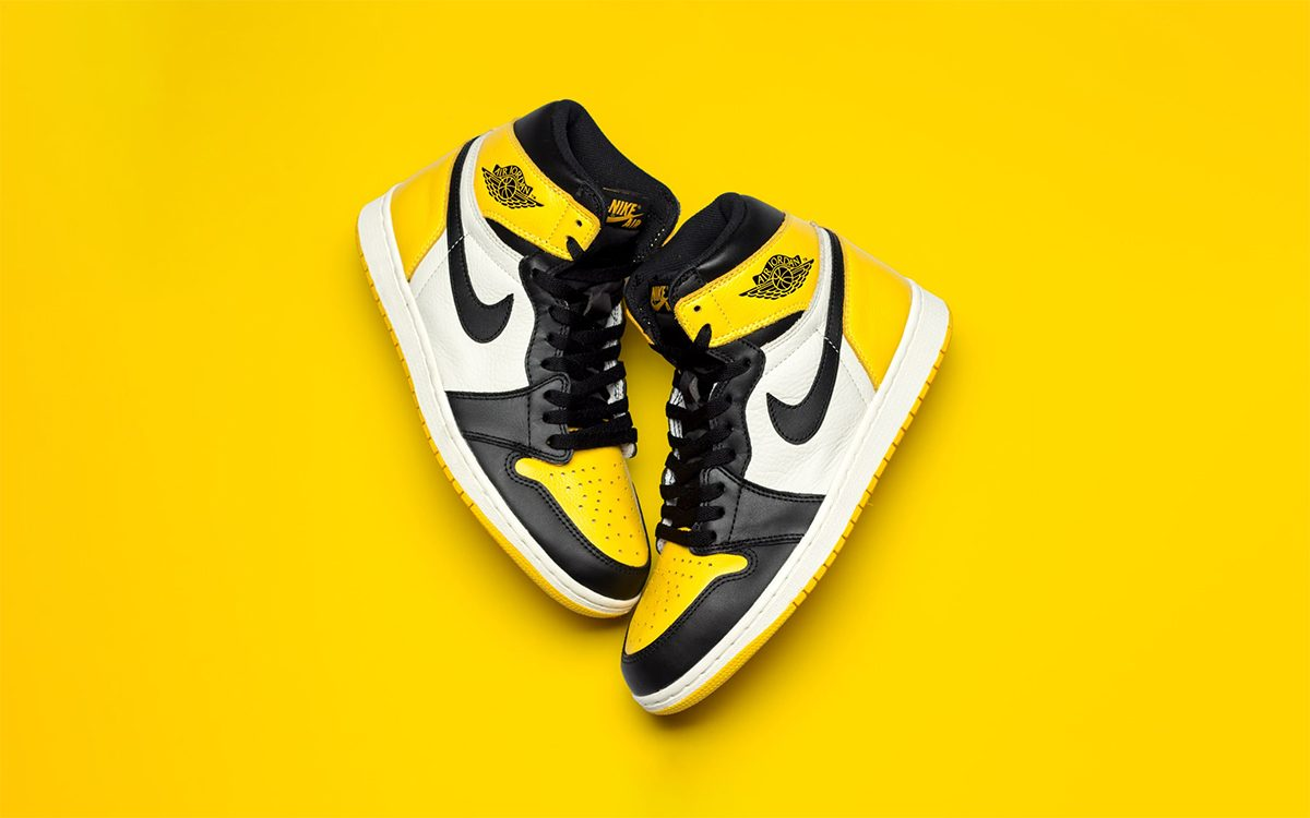 air jordan retro high yellow