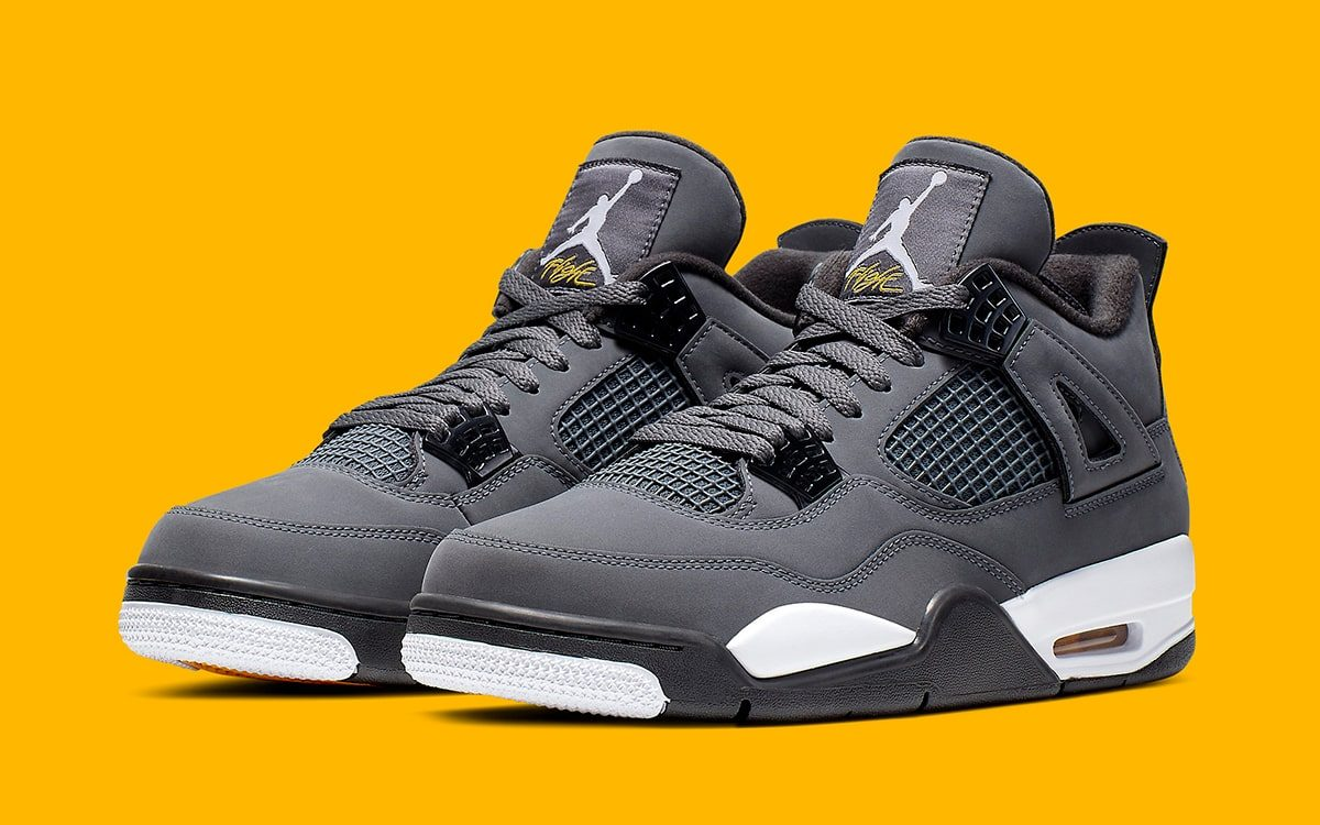 "Where to Buy the Air Jordan 4 ""Cool Grey"""
