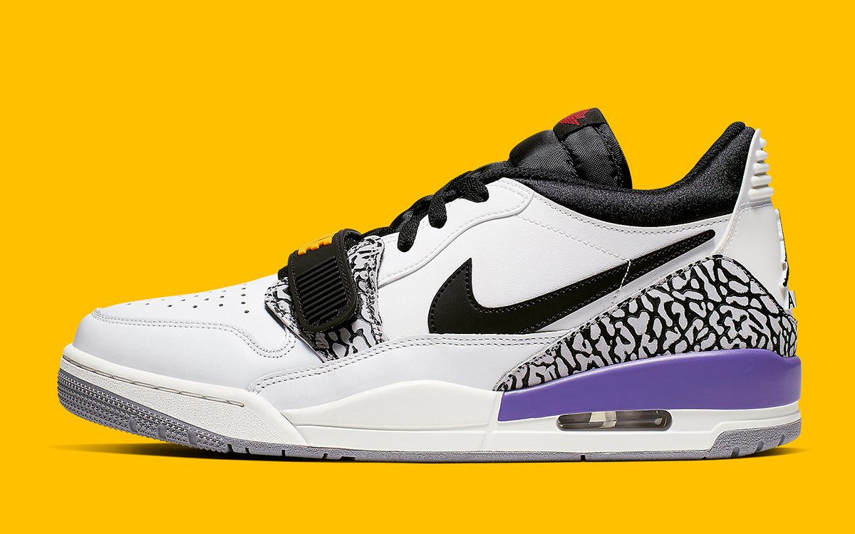 Available Now // The Legacy 312 Lands in Lakers Colors