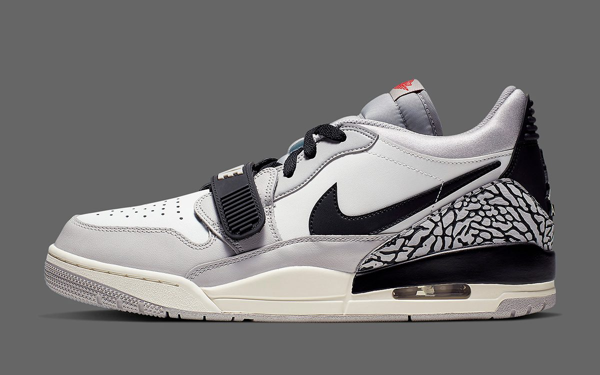 "Available Now // The Jordan Legacy 312 Low Lands in ""Tech Grey"""