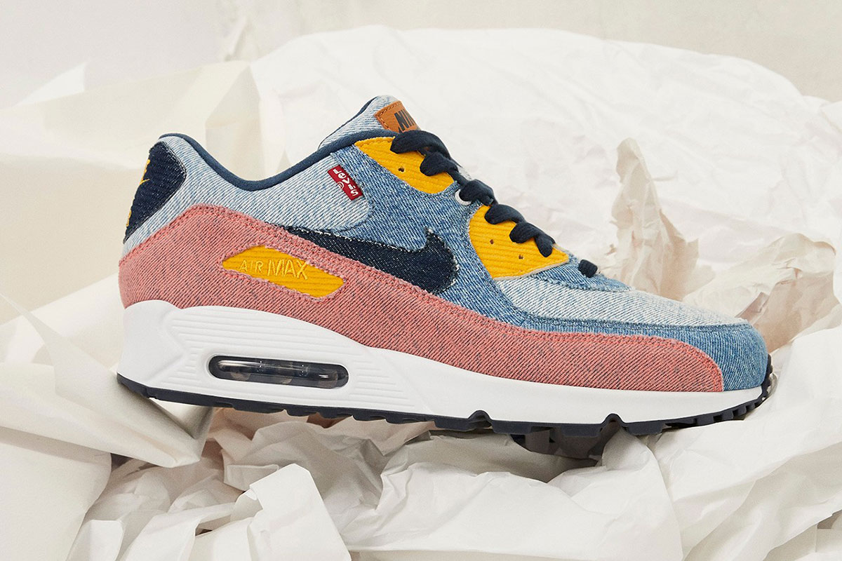 My Levi's air max 90's came in. Happy with how they turned