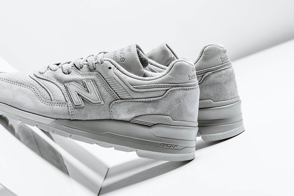 Available Now // Triple Grey Suede Made in USA New Balance 997
