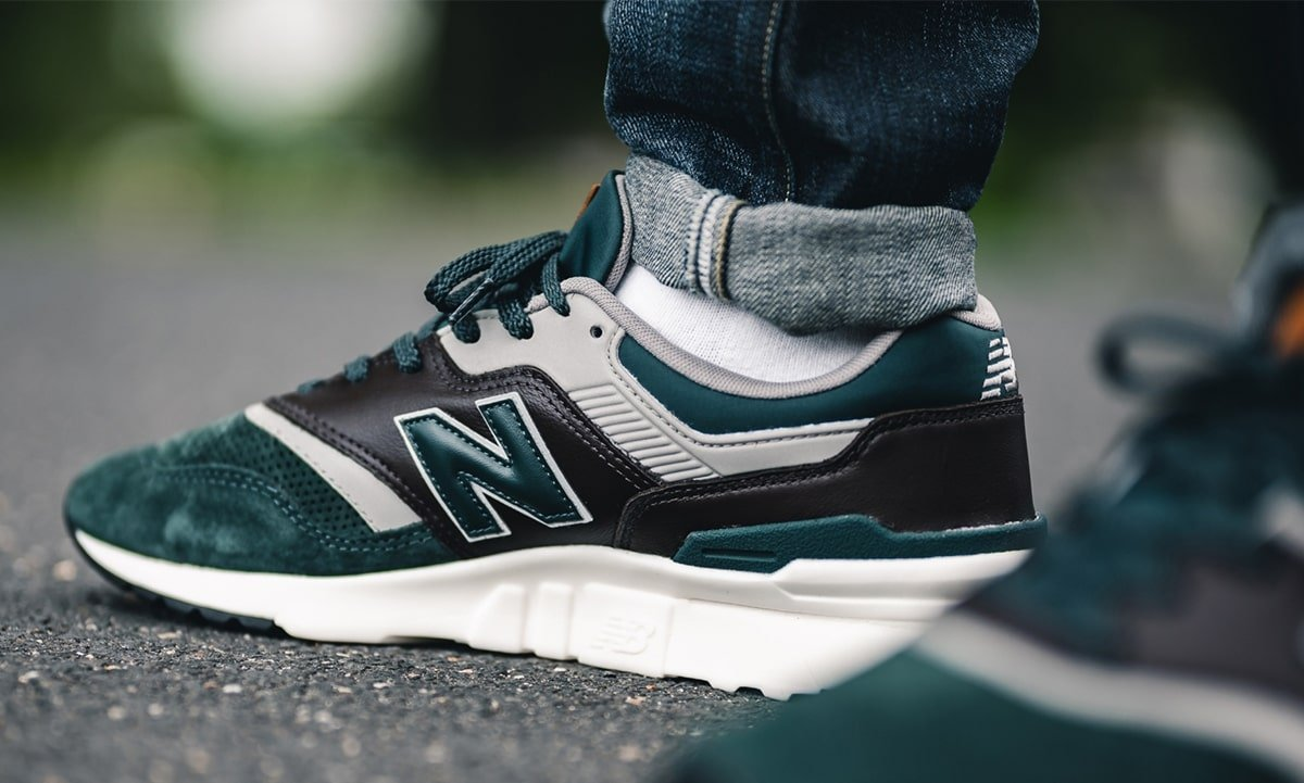 Green Family Stores >> Available Now // New Balance 997H in Grey n' Green - HOUSE ...