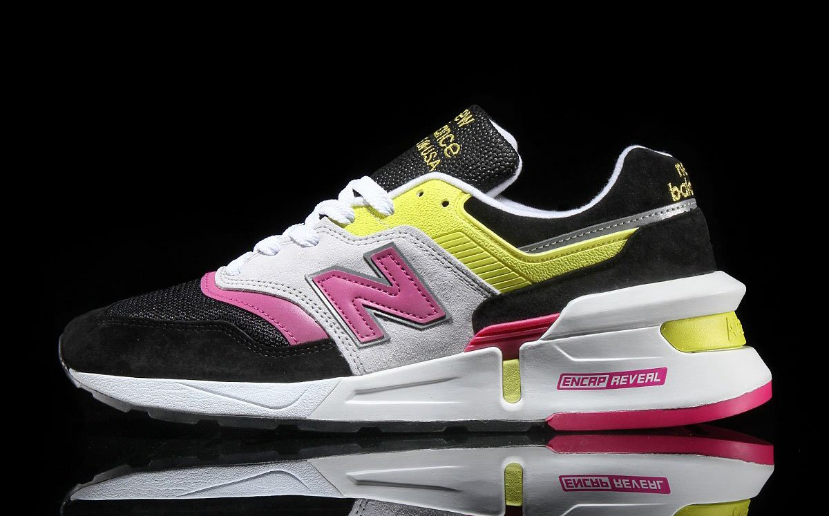 Available Now! New Balance 997s in Candy Pink and Yellow