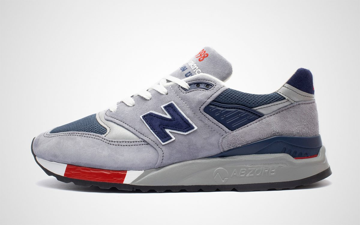 Available Now // This American Made New Balance 998 Packs a Patriotic Palate