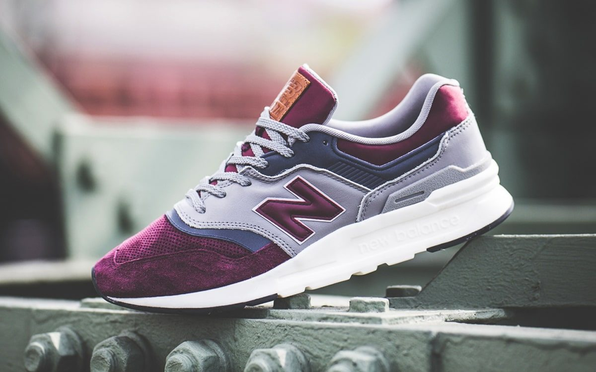 Available Now // New Balance 997H in a Cavs Wine and Navy   HOUSE ...