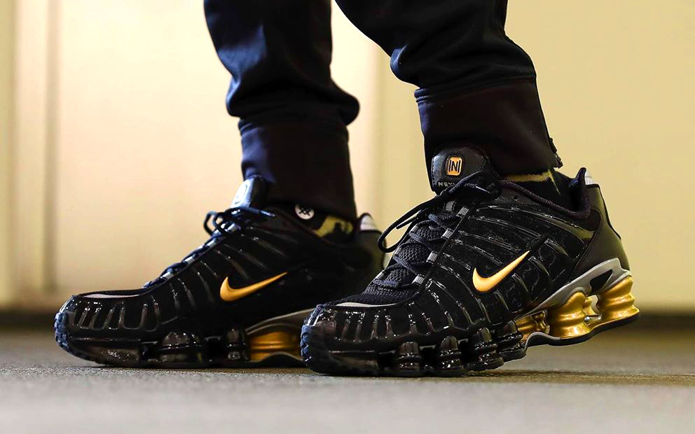 Neymar's Next Nike Shox Nails it Black and Gold - HOUSE OF ...