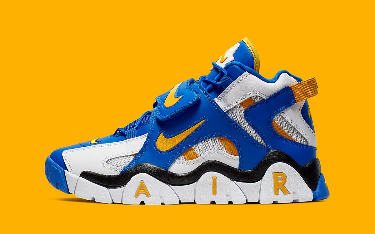 Available Now // Warriors Colors Wrap 1995's Nike Air Barrage