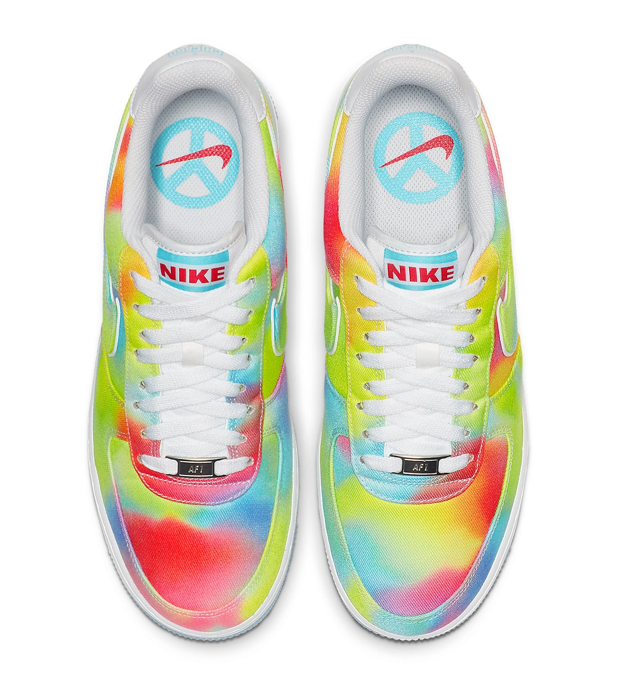 Available Now These Tie Dyed Air Force 1 Lows Celebrates