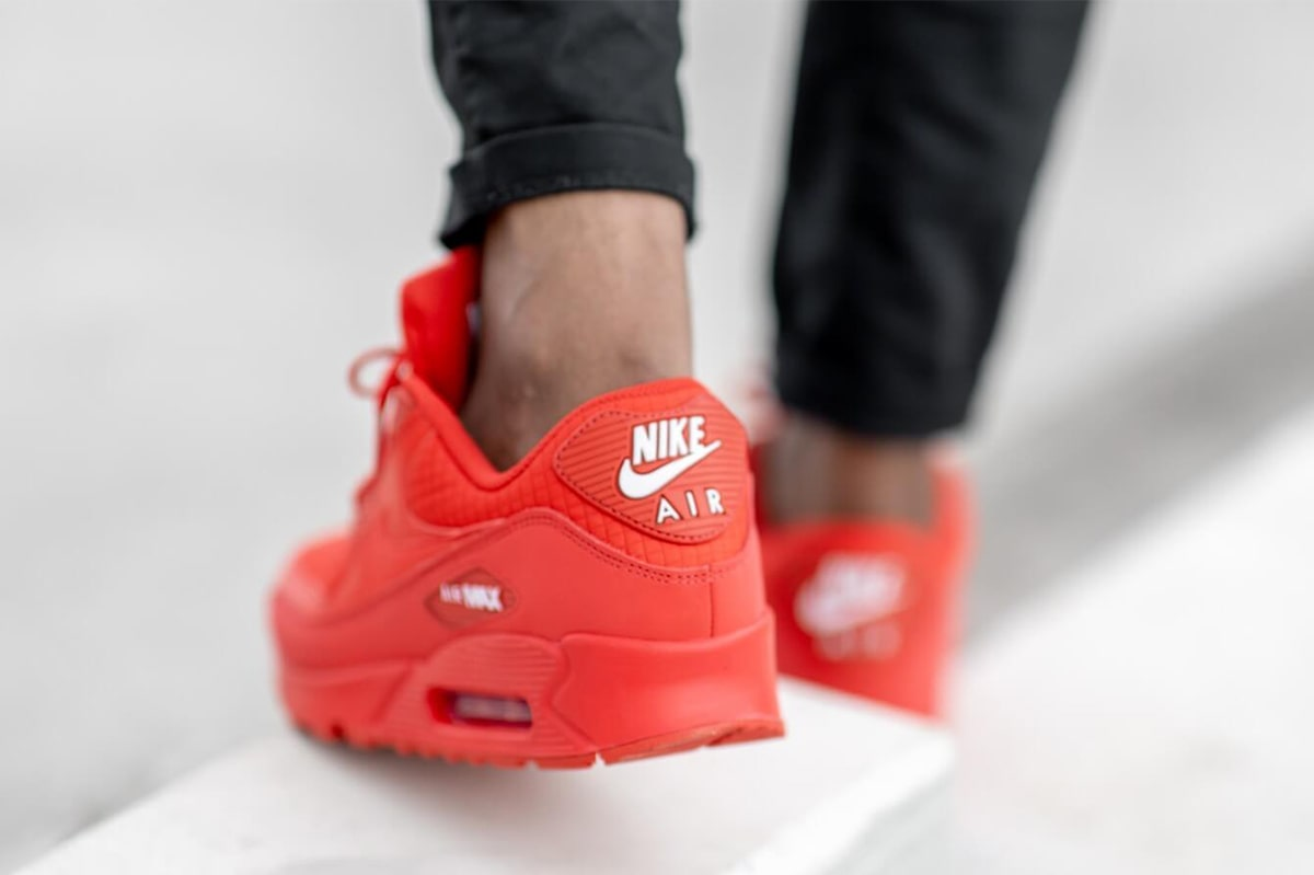 Available Now University Red Air Max 90 Essential House Of