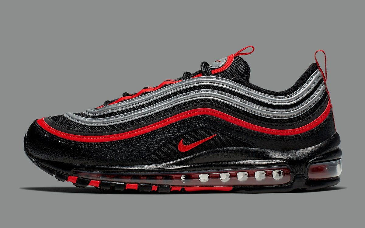 Restocked Reflective Black And Red Air Max 97 House Of Heat