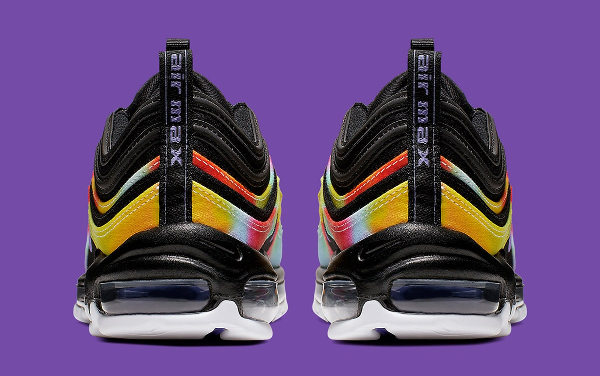 Available Now Trippy Tie Dye Canvas Covers the Air Max 97