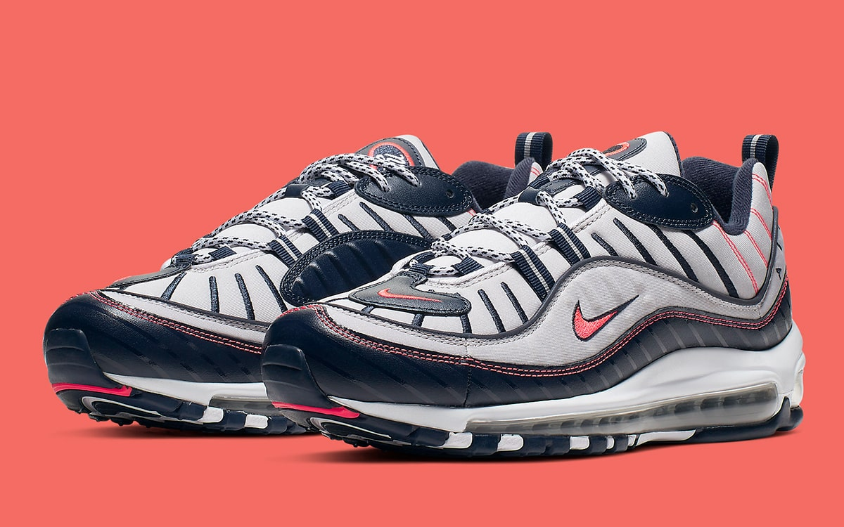 online retailer run shoes official site Available Now // The Air Max 98 Slips into a New York State ...