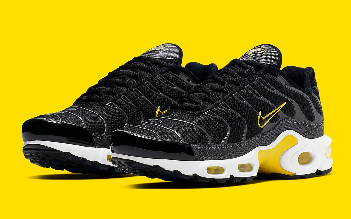 Yellow and Black is Back on the Air Max Plus!
