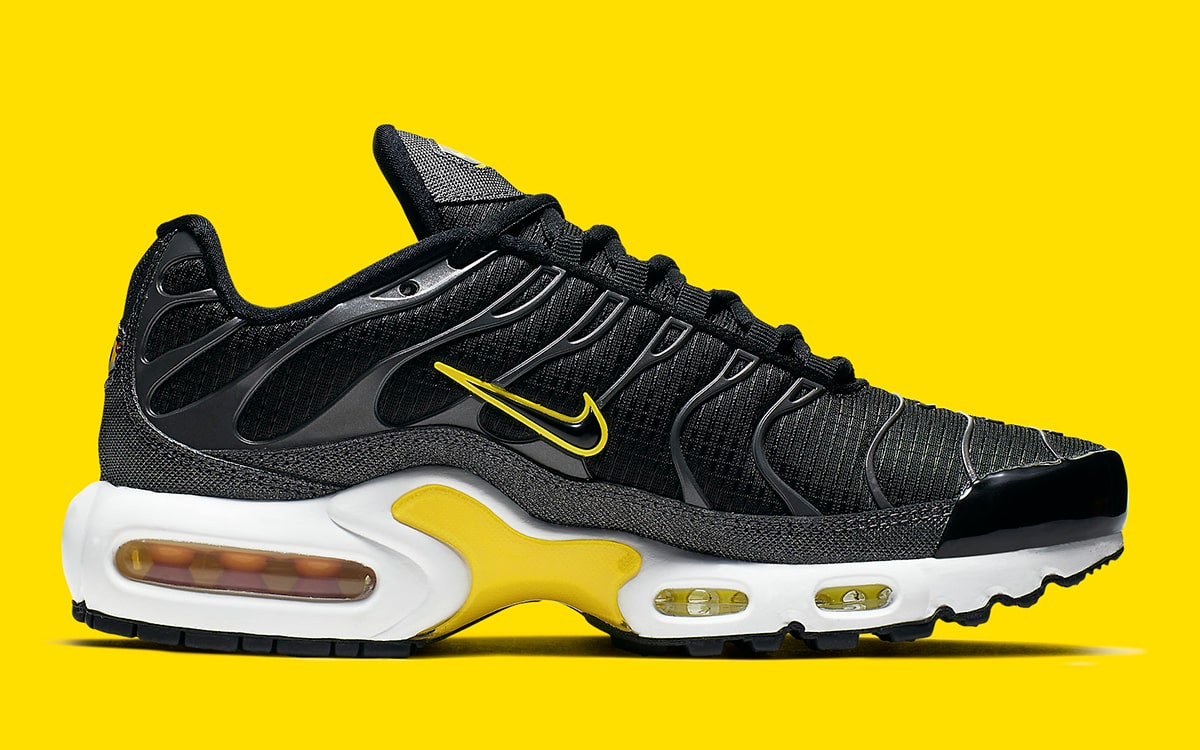 2f9b3eb56abf5 Yellow and Black is Back on the Air Max Plus! - HOUSE OF HEAT ...