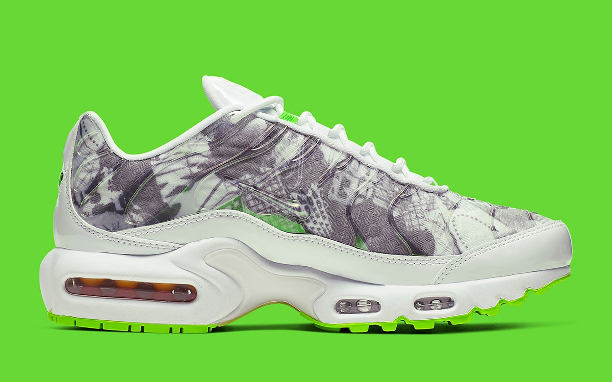 the latest 7f6e2 f36cf This Air Max Plus Rocks Vintage Nike Visuals - HOUSE OF HEAT ...