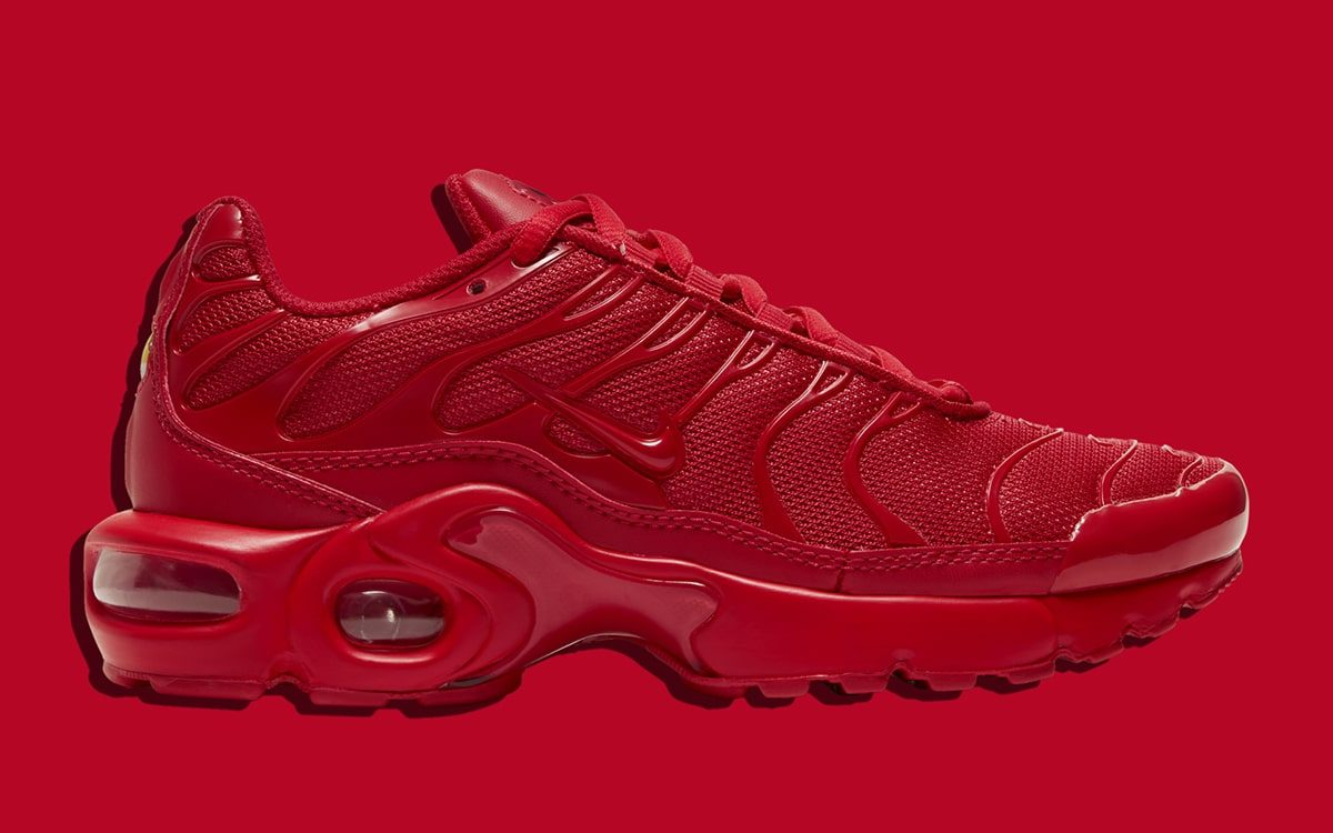 The Air Max Plus Tn Takes on Triple Red Tones