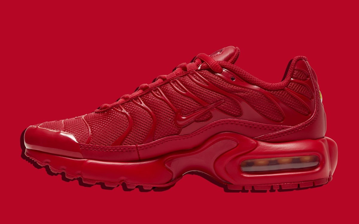 The Air Max Plus Tn Takes on Triple Red