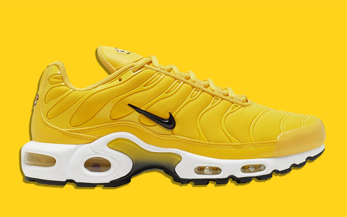 This Audacious Amarillo Air Max Plus Is Available Now House
