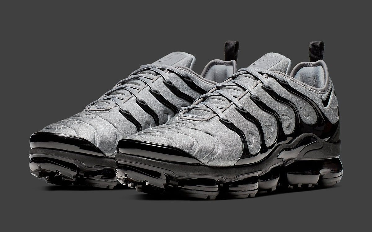 huge discount ef1d0 a0405 The Nike Air VaporMax Plus Cool Grey/Black is Bad Ass ...