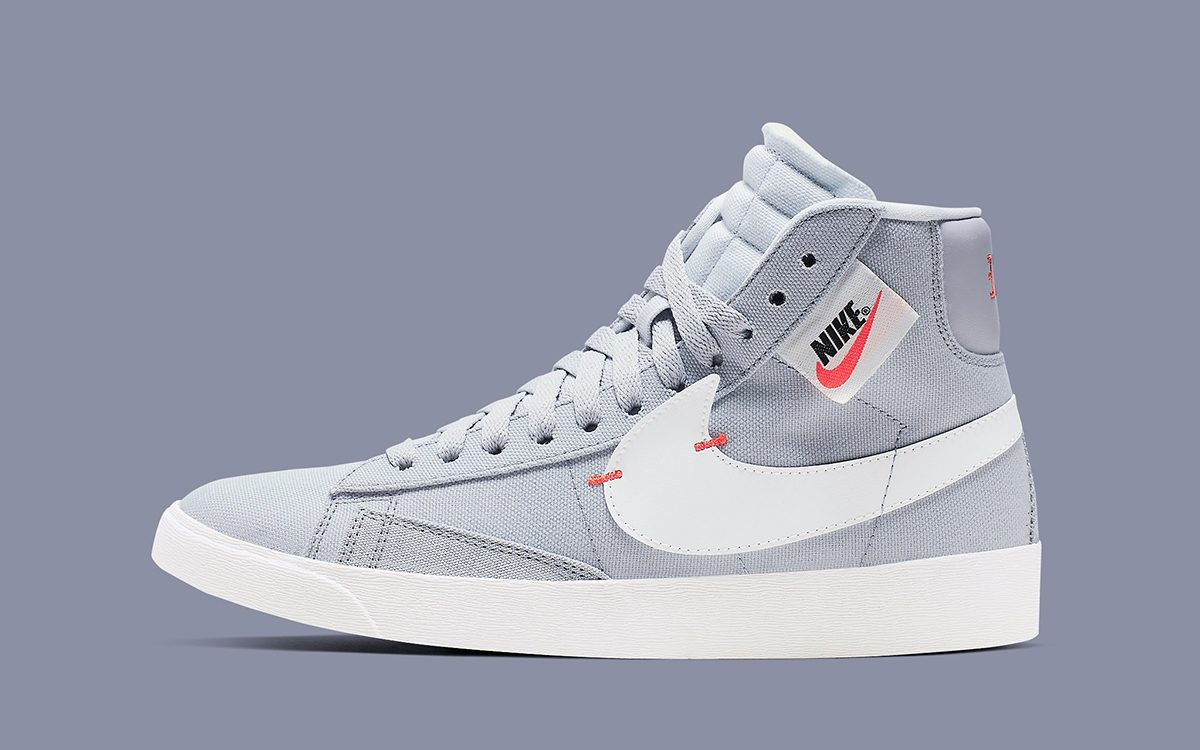 "Available Now! // Nike Blazer Mid Rebel ""Wolf Grey"""