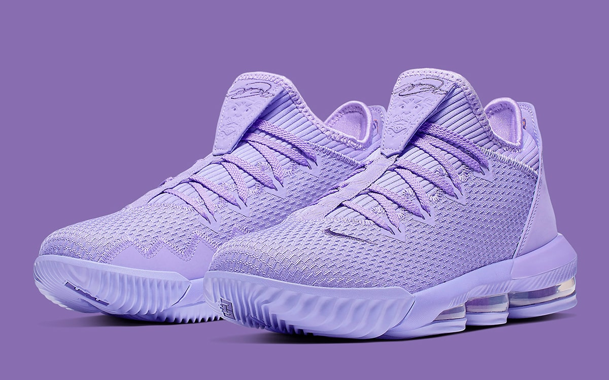 The Nike LeBron 16 Low Pops in Pastel
