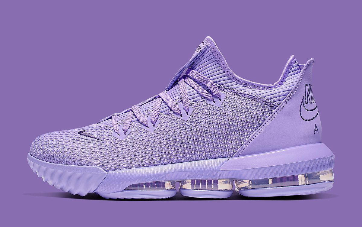 finest selection e8751 f0b62 The Nike LeBron 16 Low Pops in Pastel Purple! - HOUSE OF ...