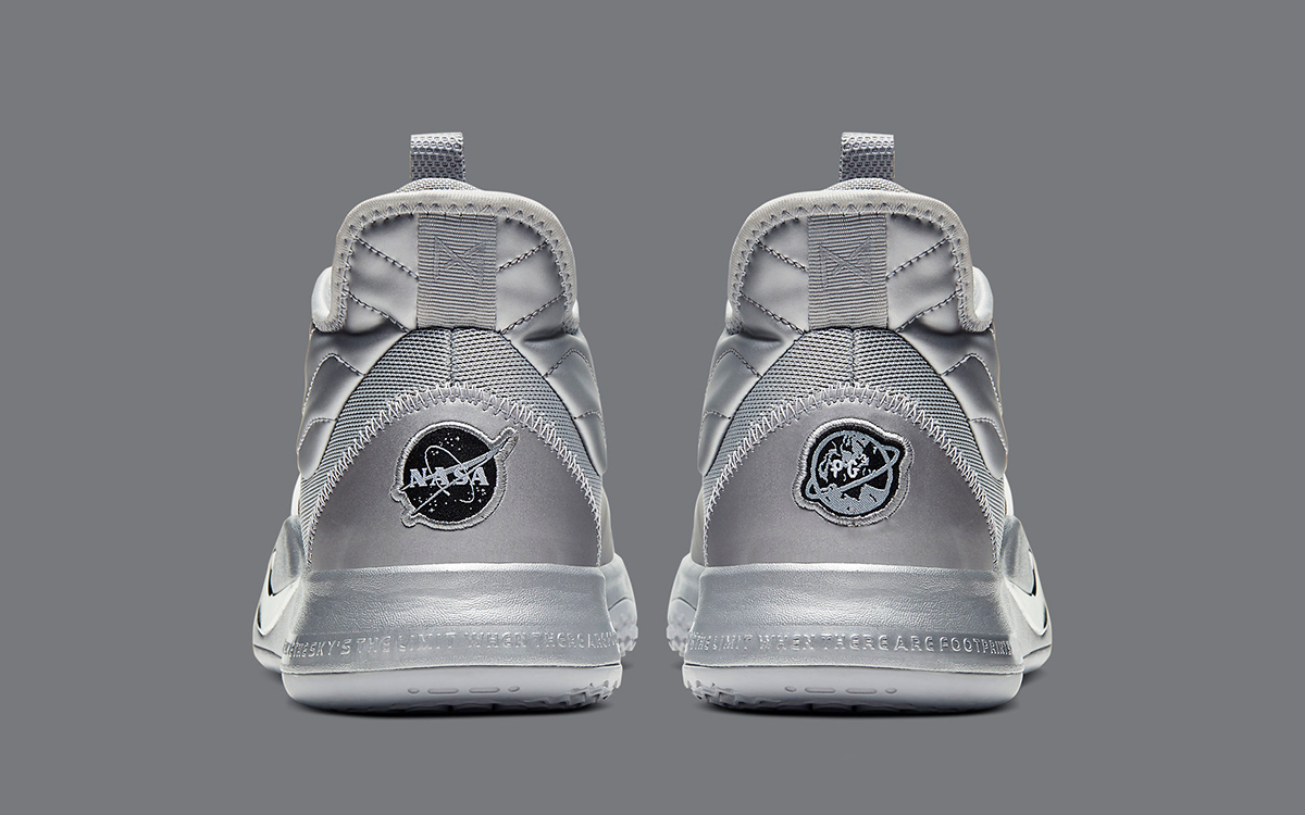 corazón Contratado respirar  Nike and Paul George Celebrate the 50th Anniversary of the Apollo 11 Moon  Landing with this NASA x PG3 in Reflect Silver - HOUSE OF HEAT | Sneaker  News, Release Dates and Features