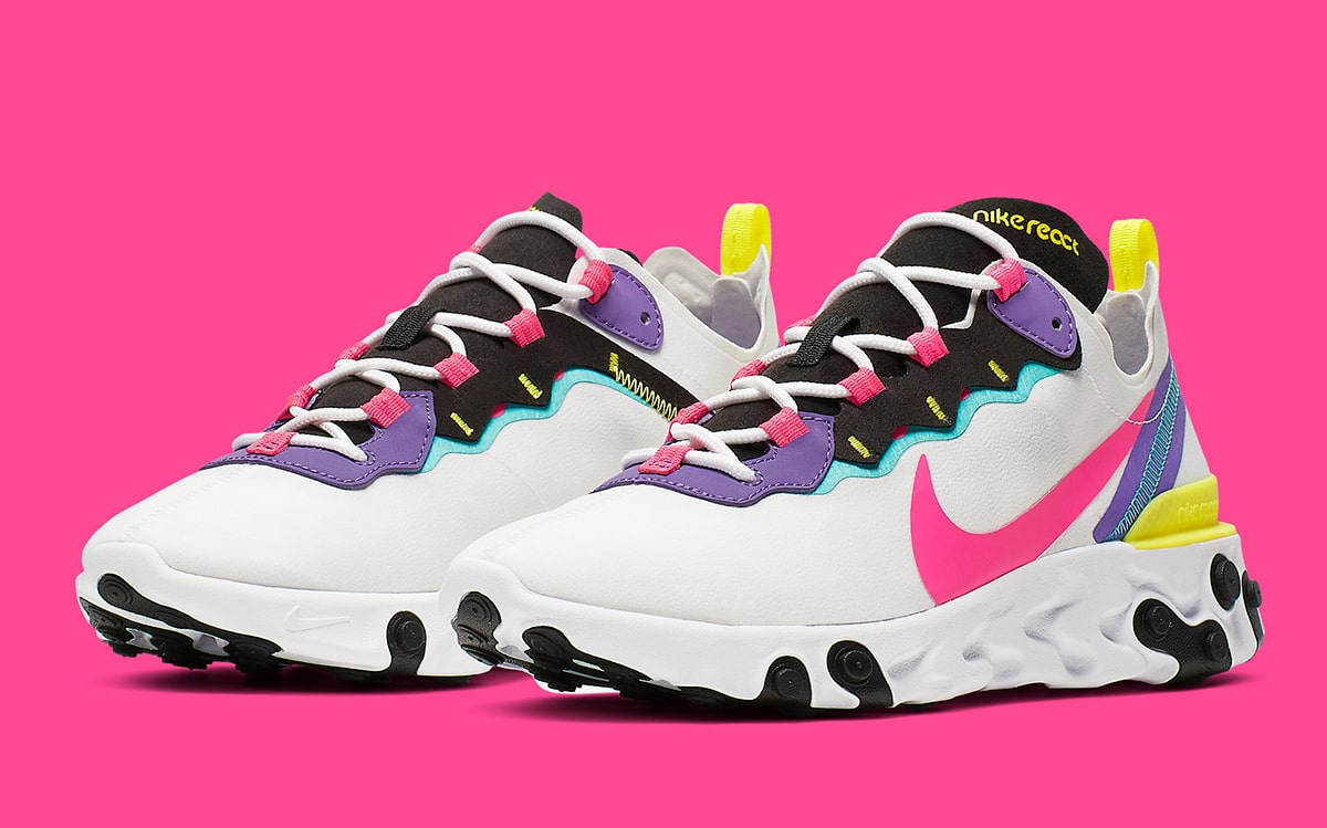 Regulación Pizza carne de vaca  Available Now // Nike React Element 55 Arrives in Candy Colors - HOUSE OF  HEAT | Sneaker News, Release Dates and Features