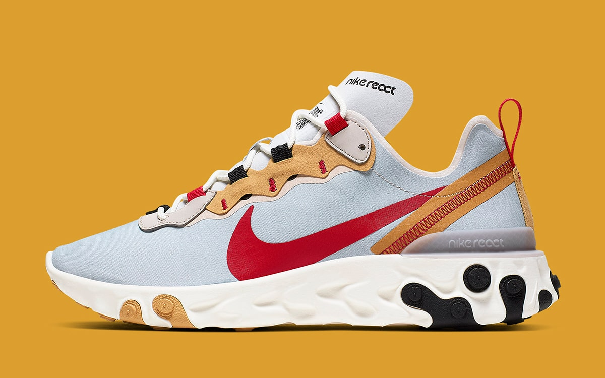 """Available Now // Nike React Element 55 """"Inside Out"""" - HOUSE OF HEAT 