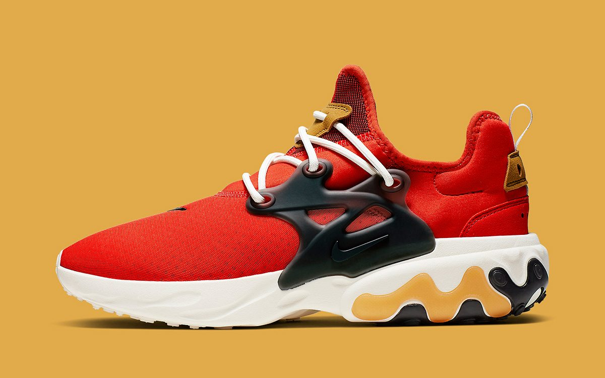 "The Nike React Presto Touts a Tasty ""Tomato Tornado"" Take"