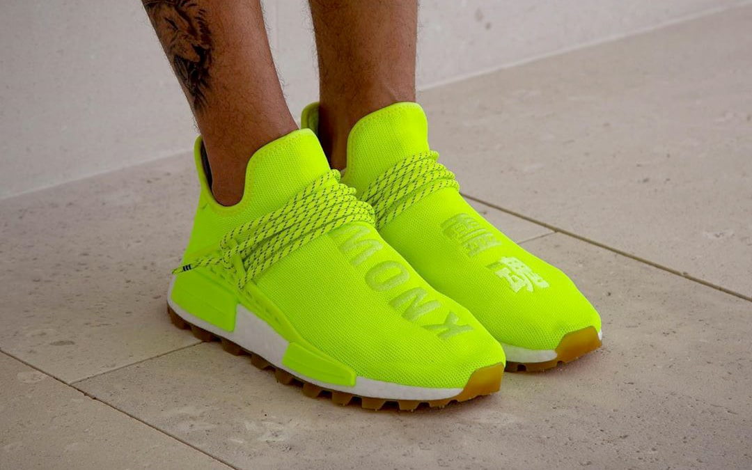 huge discount d7640 4d7c7 On-Foot Looks at the Neon adidas NMD Hu
