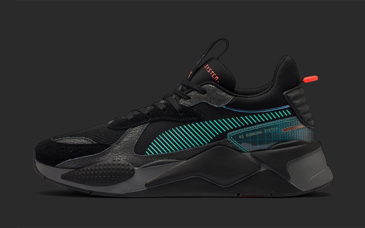 "Available Now // PUMA RS-X ""Blade Runner"" Release Coincides with Film's Futuristic Timeline"