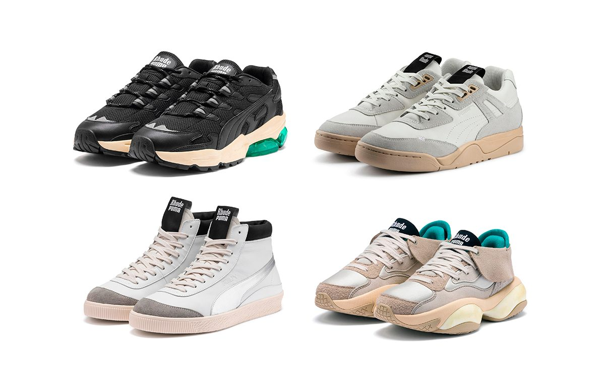 PUMA Unveil Their First Collaboration with LA Label RHUDE
