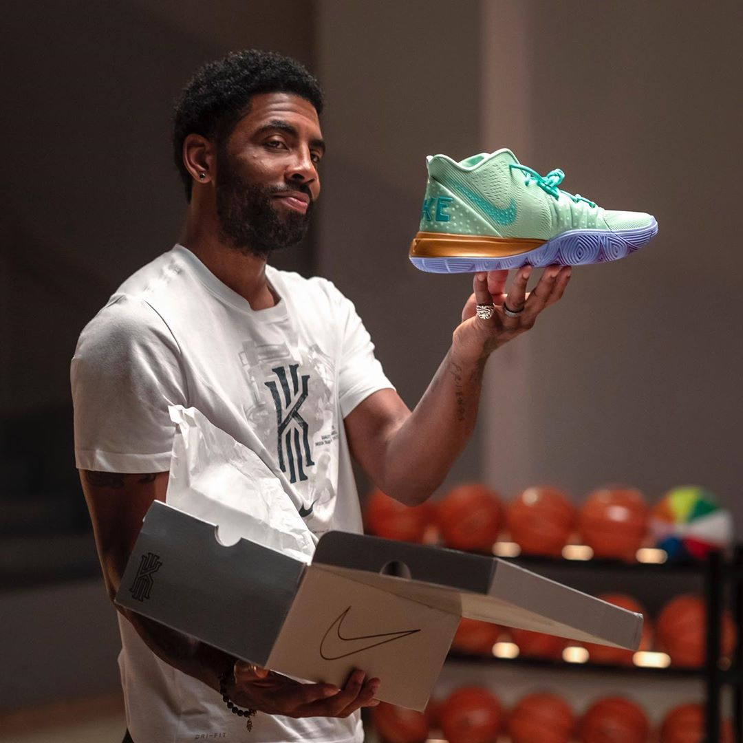 Where to Buy the Entire 5-Piece SpongeBob x Nike Kyrie 5 Collection