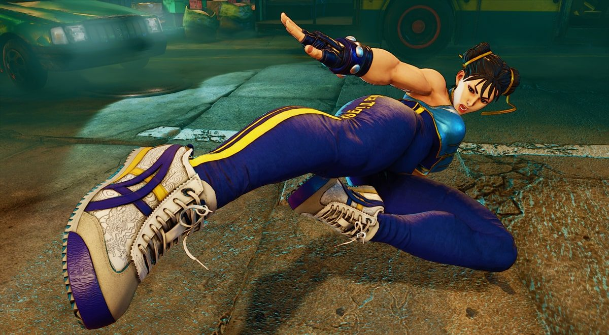 Onitsuka Tiger Release an Official Collab With Street Fighter's Chun-Li
