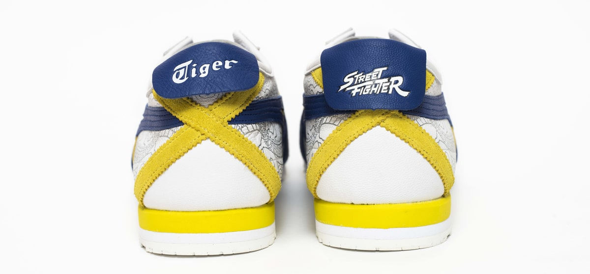 onitsuka tiger street fighter india launch new